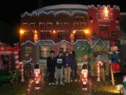 クリスマスイルミネーションツアー
