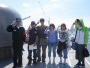 6月の特別活動は『海上自衛隊のバンクーバー港訪問』
